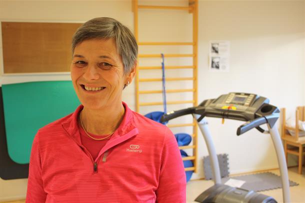 Fysioterapeut og forsker, Marit Danielsen. Foto.
