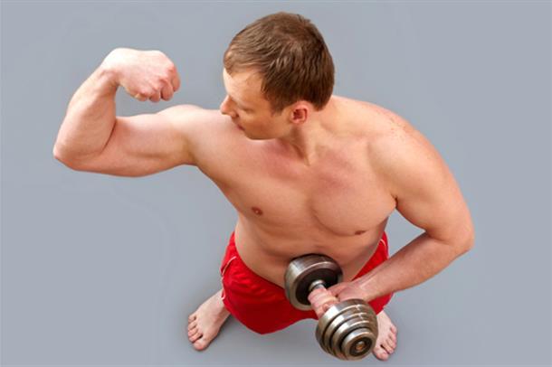 Negative konsekvenser for unge menn som er hekta på muskler. Illfoto.