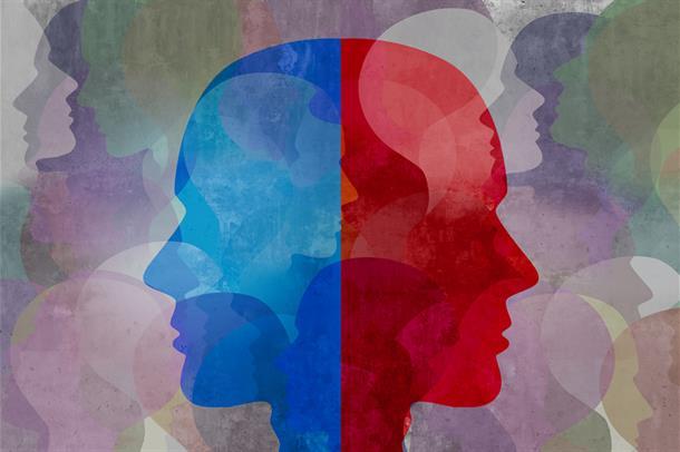 Selvrapportert helse hos 15 personer som senere utviklet schizofreni. Bilde