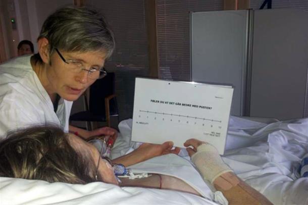 Pasienters erfaringer med pust under og etter respiratorbehandling